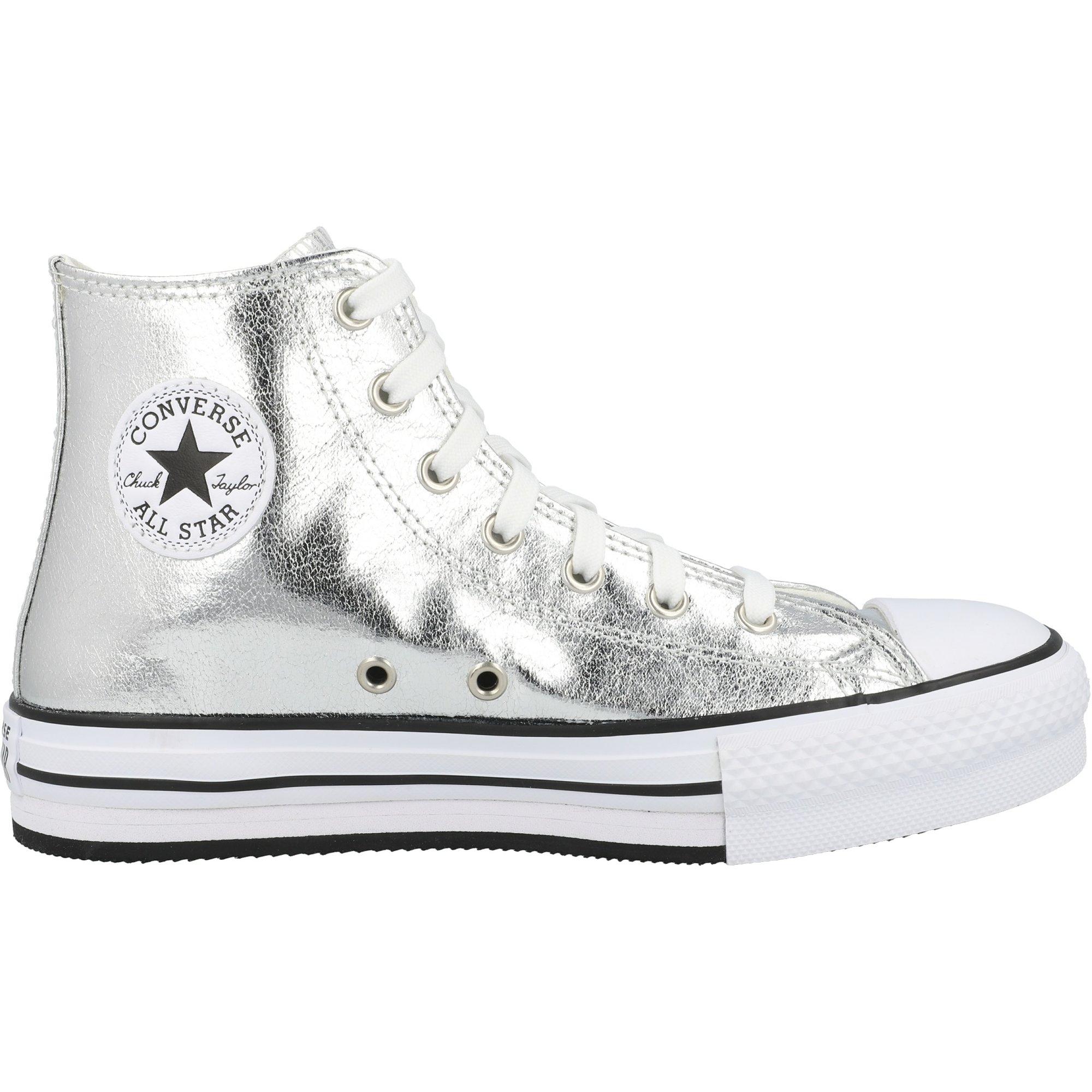 Converse Chuck Taylor All Star EVA Lift Hi Digital Powder Grey/Black Polyester