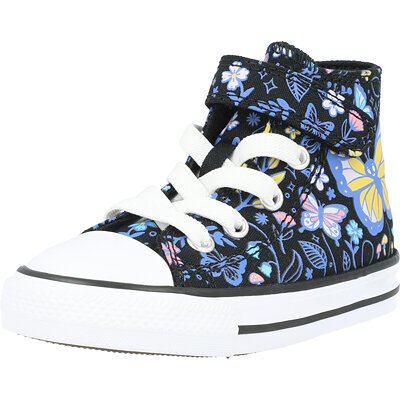 Chuck Taylor All Star 1V Hi Butterfly Forest Butterfly Infant childrens shoes