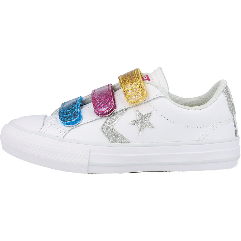 Converse Star Player 3V Ox White/Photon Dust Leather
