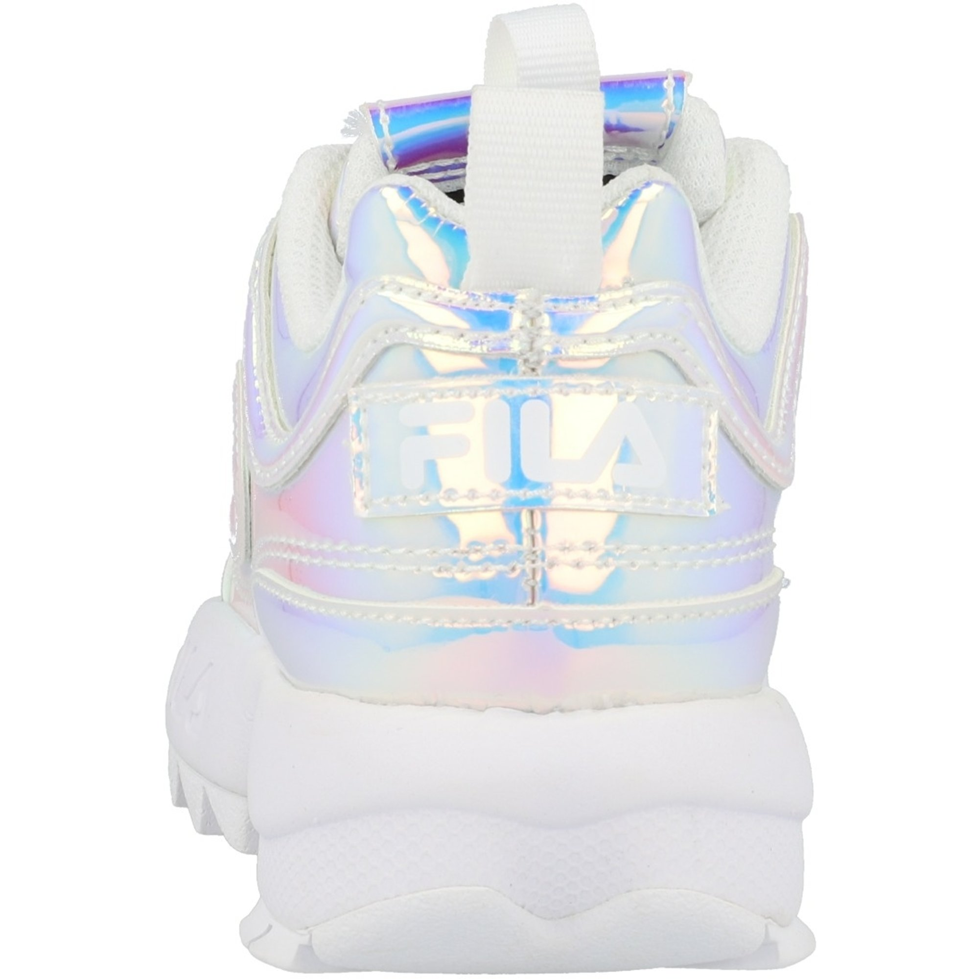FILA Disruptor II K Iridescent/White Synthetic