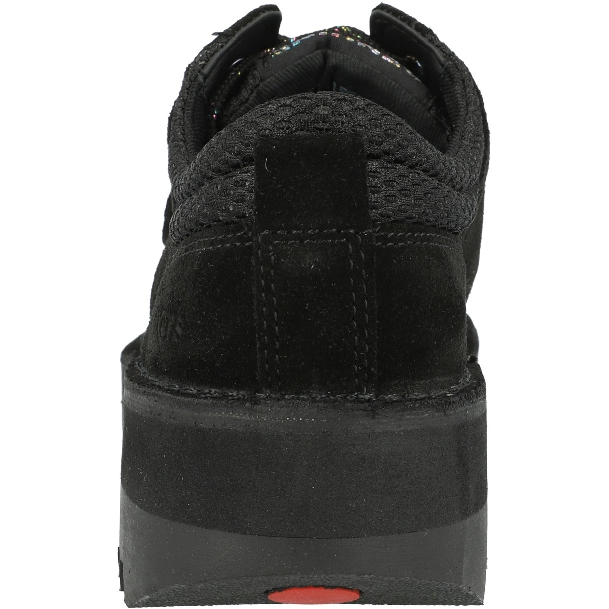 Kickers Kick Lo Cosmik Black Suede Adult Shoes