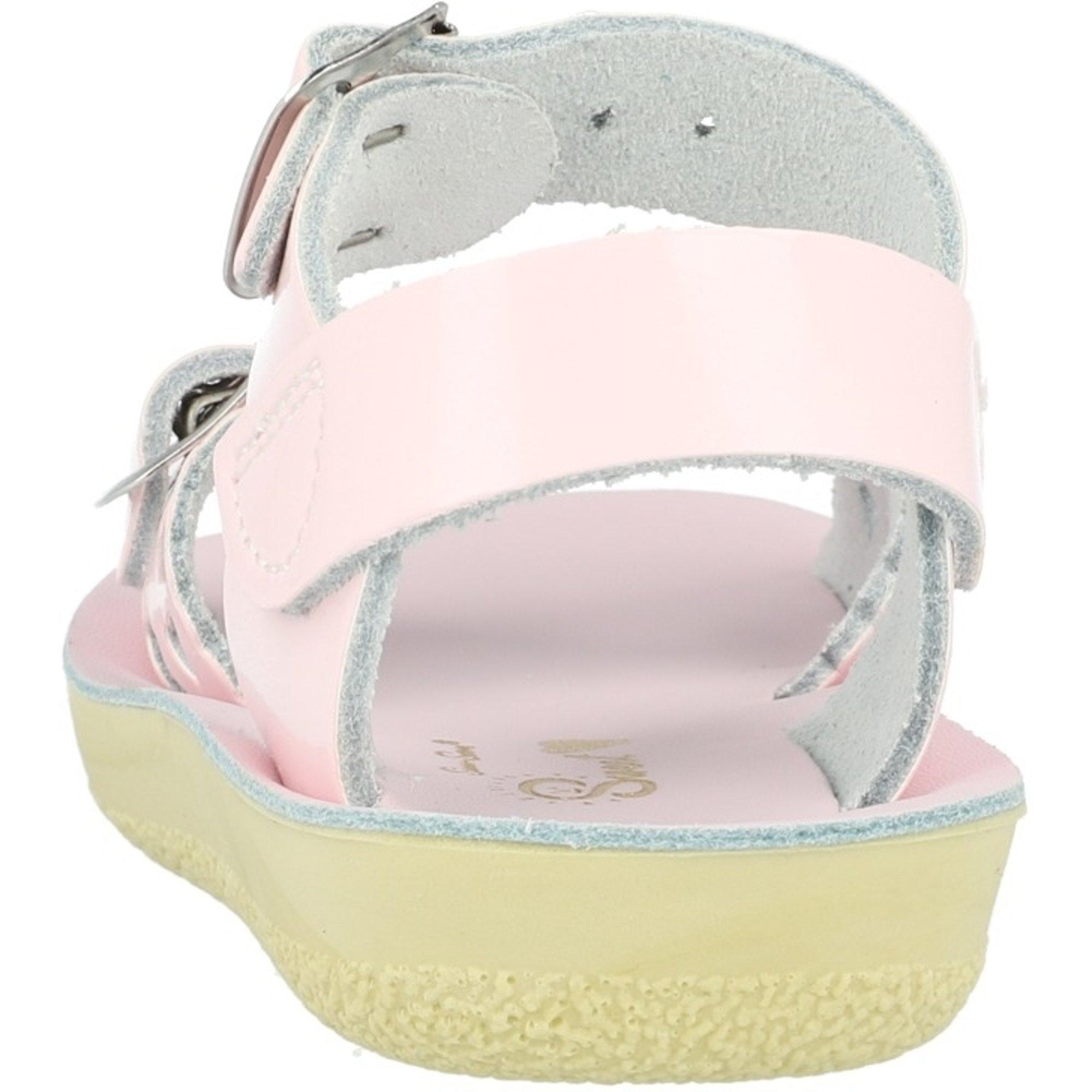 Salt Water Sandals Sun-San Sweetheart Shiny Pink Patent