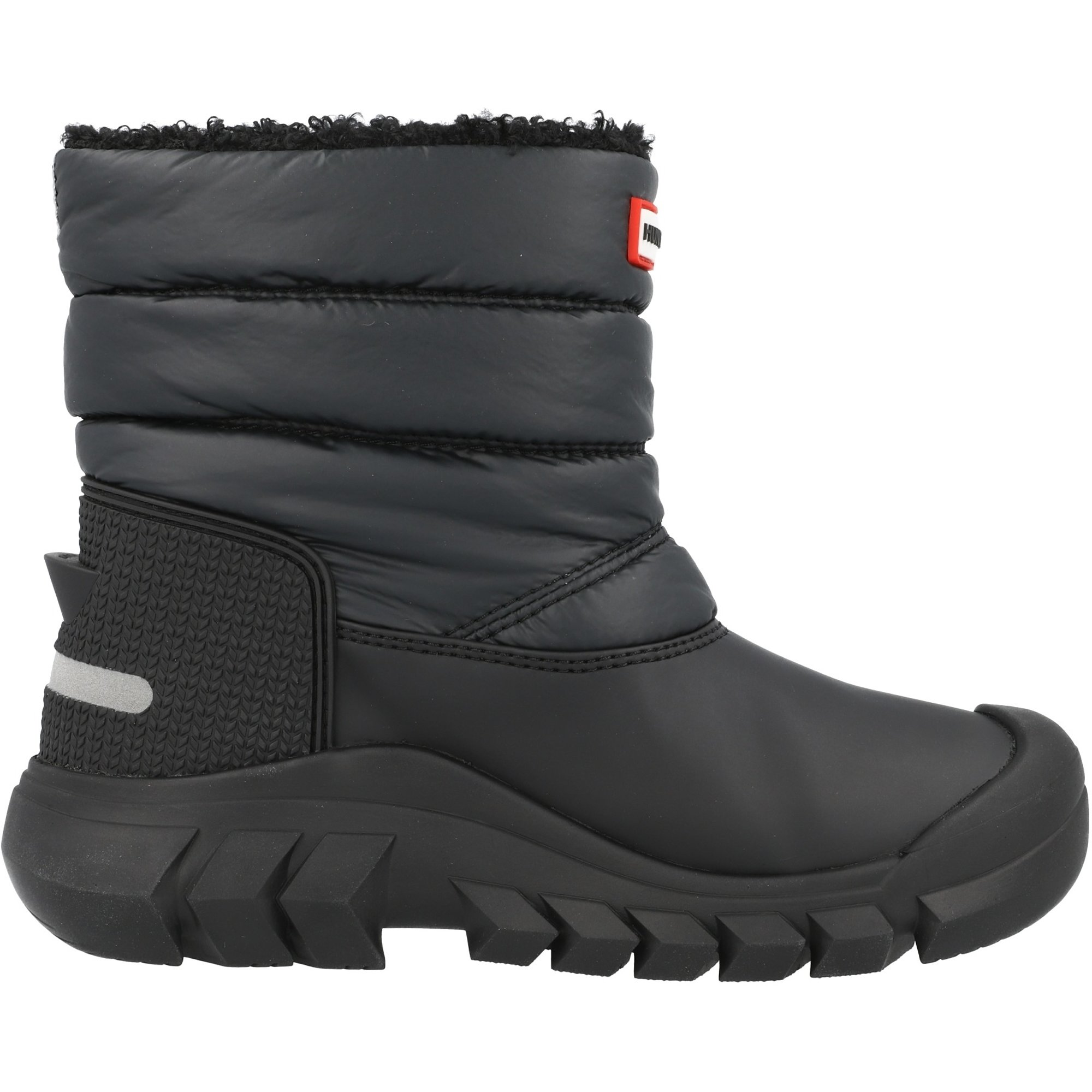 Hunter Original Kids Snow Boots Black Nylon
