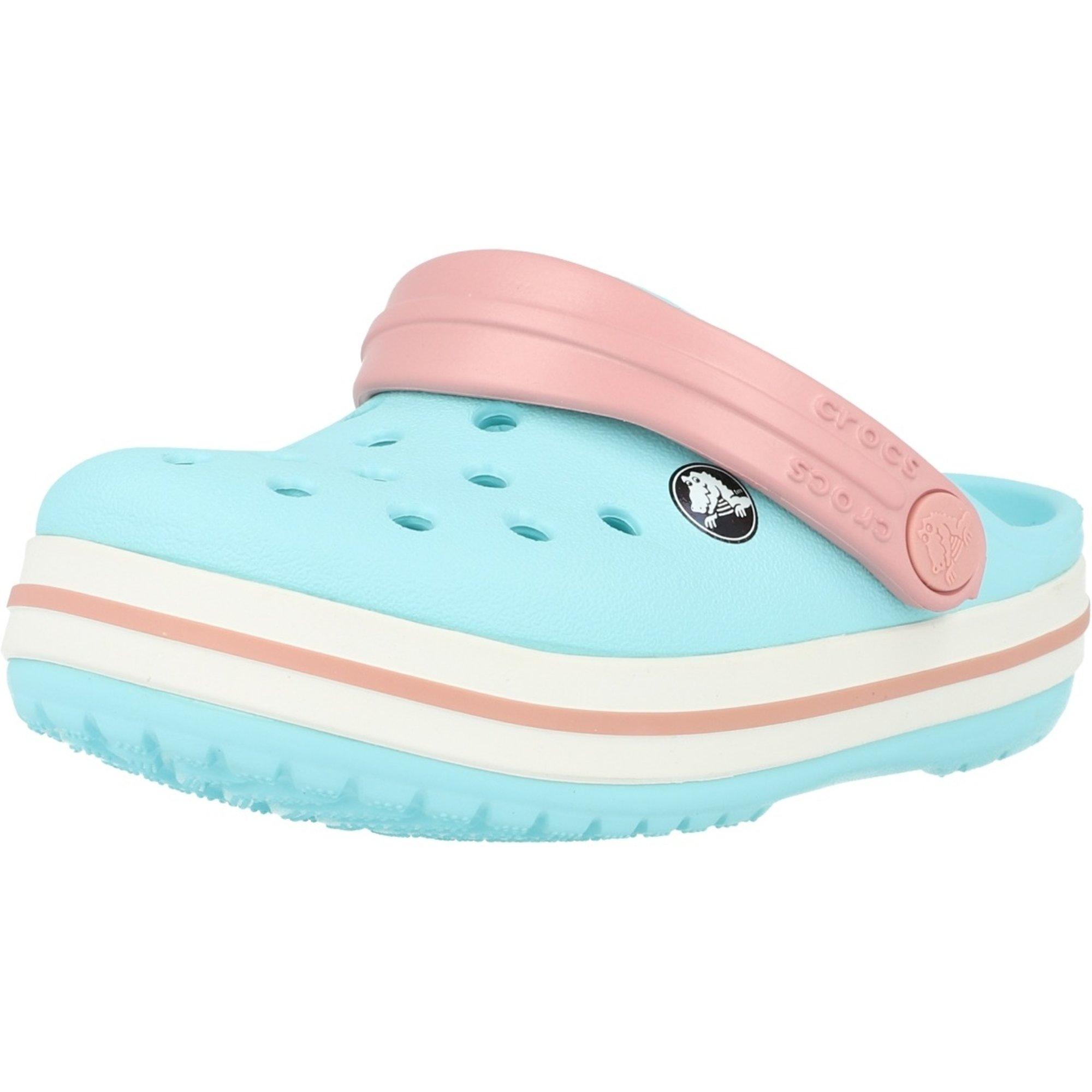 Crocs Kids Crocband Clog Ice Blue/White Croslite