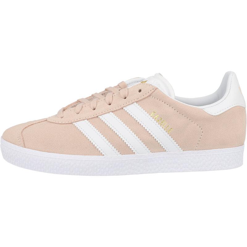 adidas Originals Gazelle J Pink/White Suede