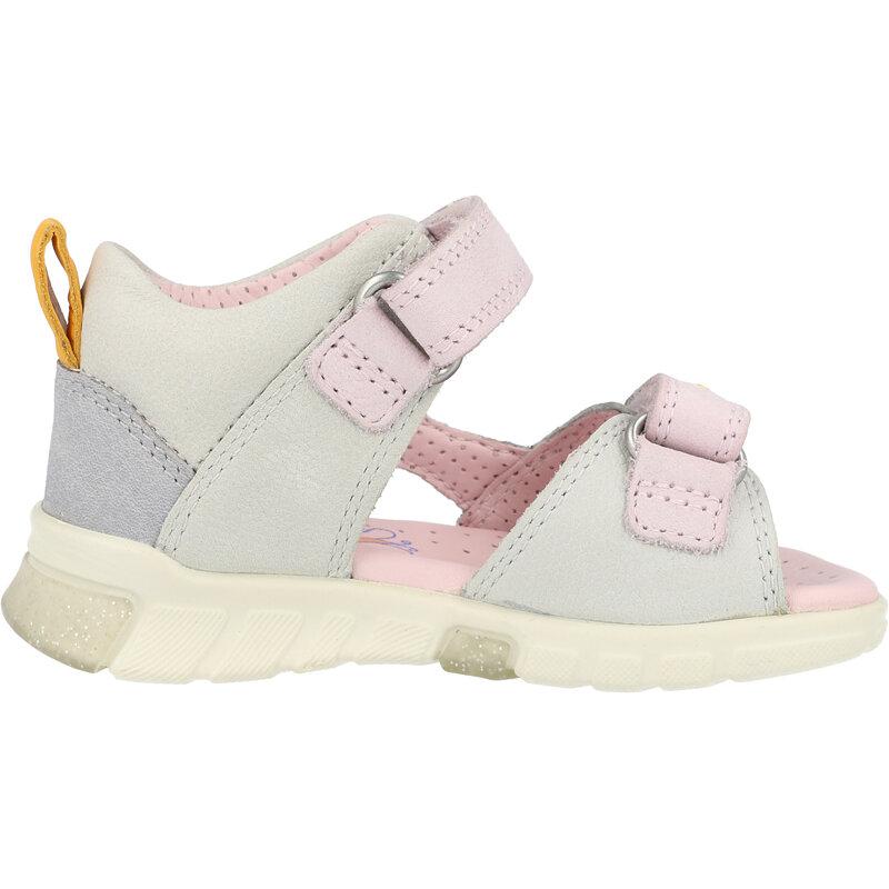 Ecco Mini Stride Sandal Multicolor/Concrete Cow Nubuck