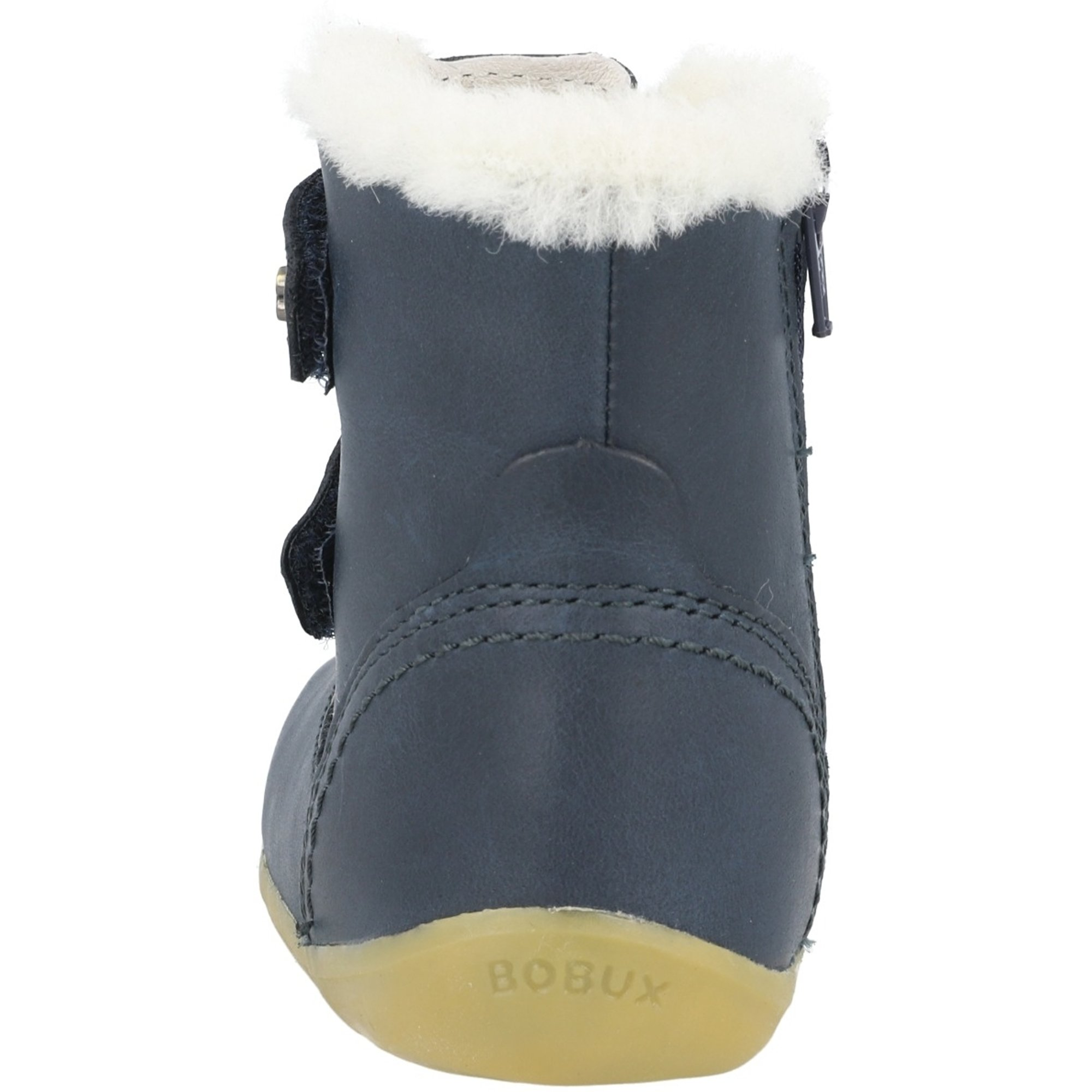 Bobux Step Up Aspen Navy Leather