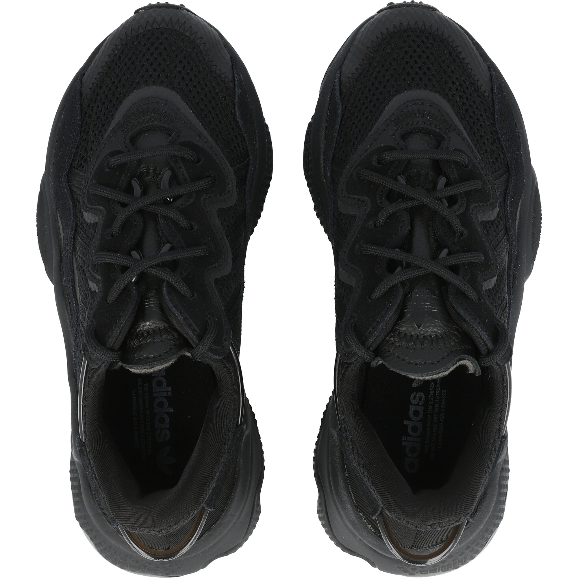 adidas Originals Ozweego J Core Black/Trace Grey Metallic Textile Junior