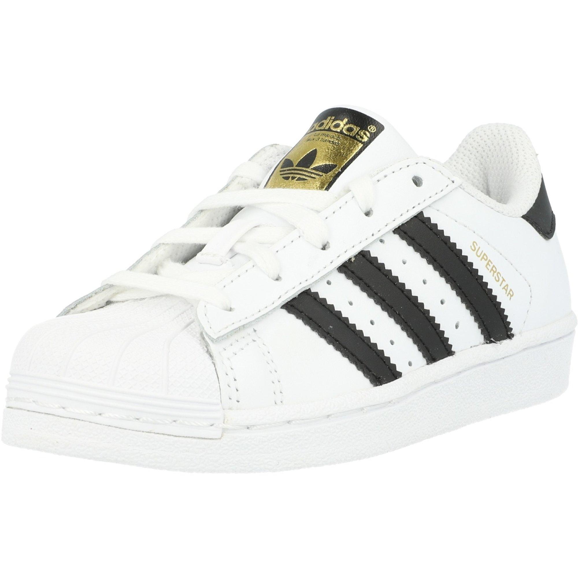 adidas Originals Superstar C White/Black Leather