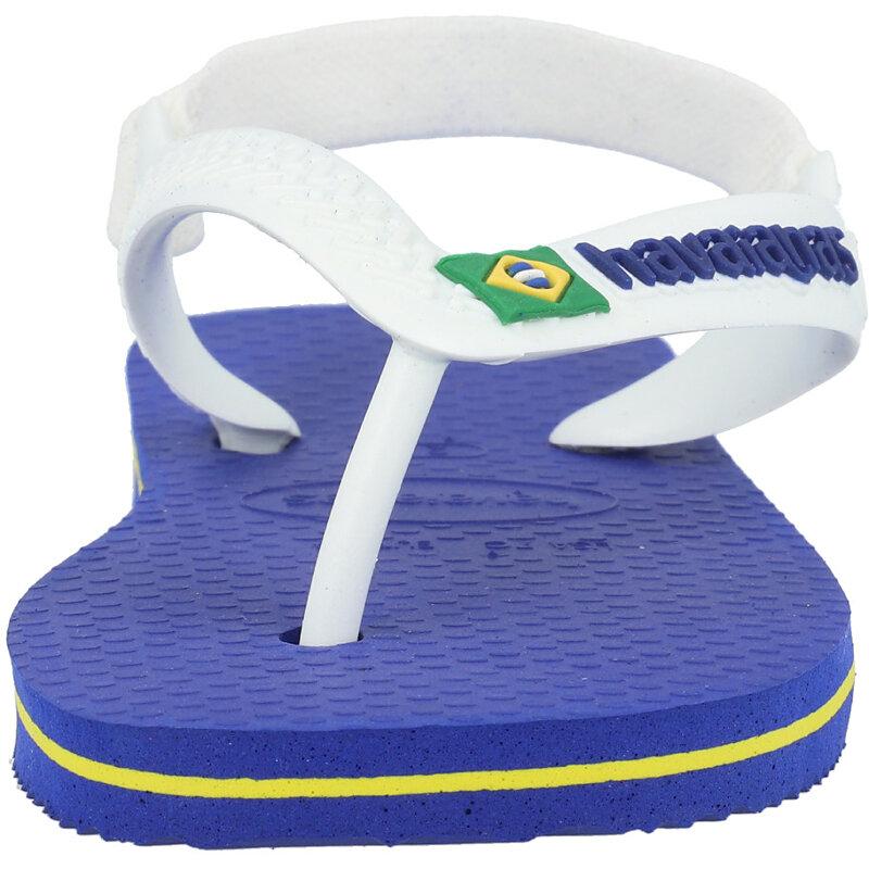 Havaianas Baby Brasil Logo II Marine Blue Rubber