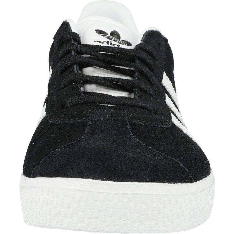 adidas Originals Gazelle J Black/Gold Metallic Suede