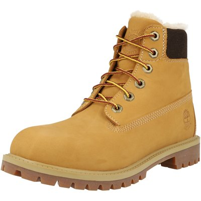 Premium 6 Inch Waterproof Faux Shearling J Junior childrens shoes