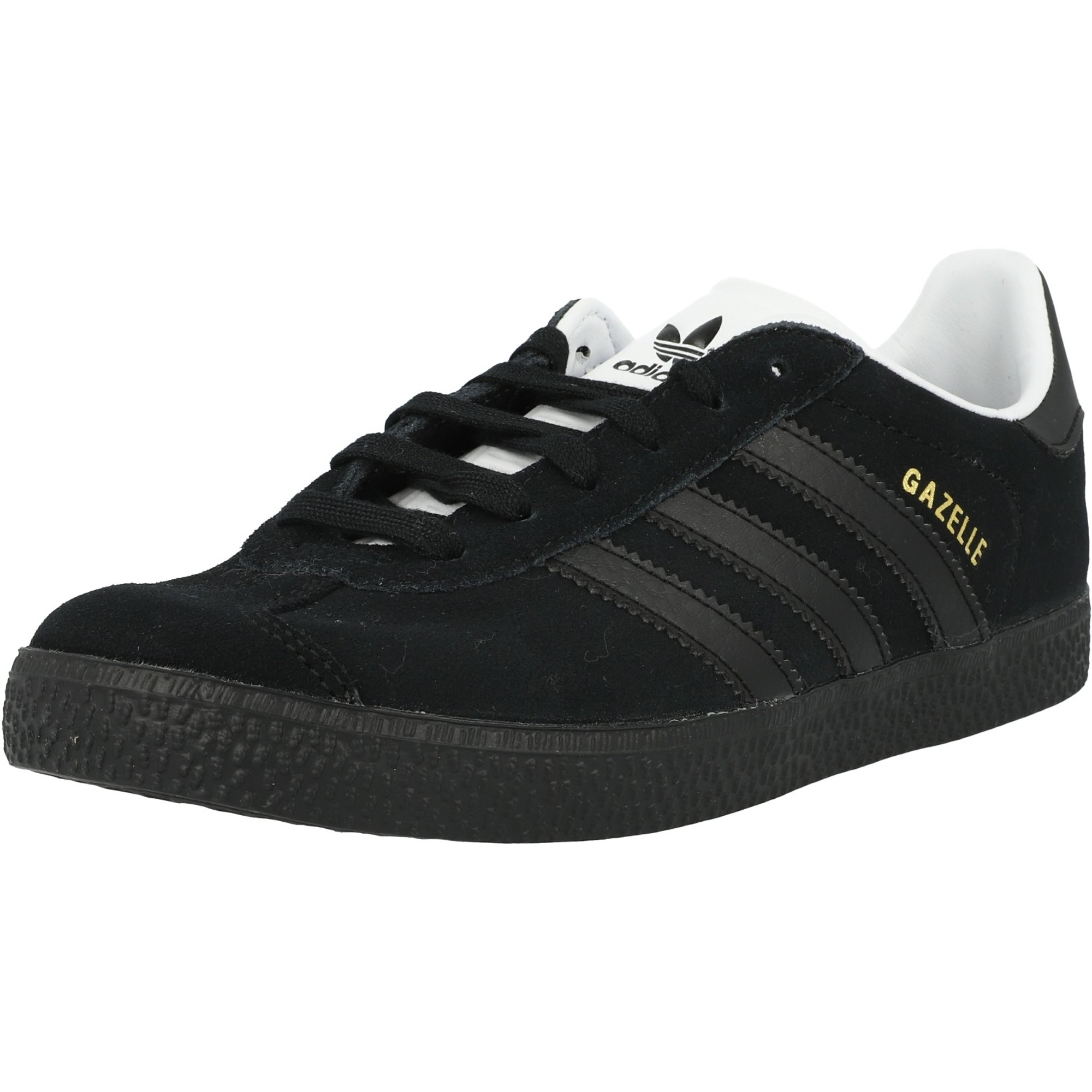 adidas Originals Gazelle J Black/Gold