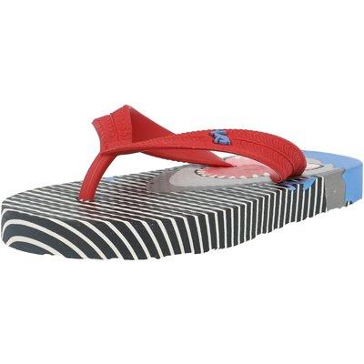 Printed Flip Flops Stripe Shark Child childrens shoes