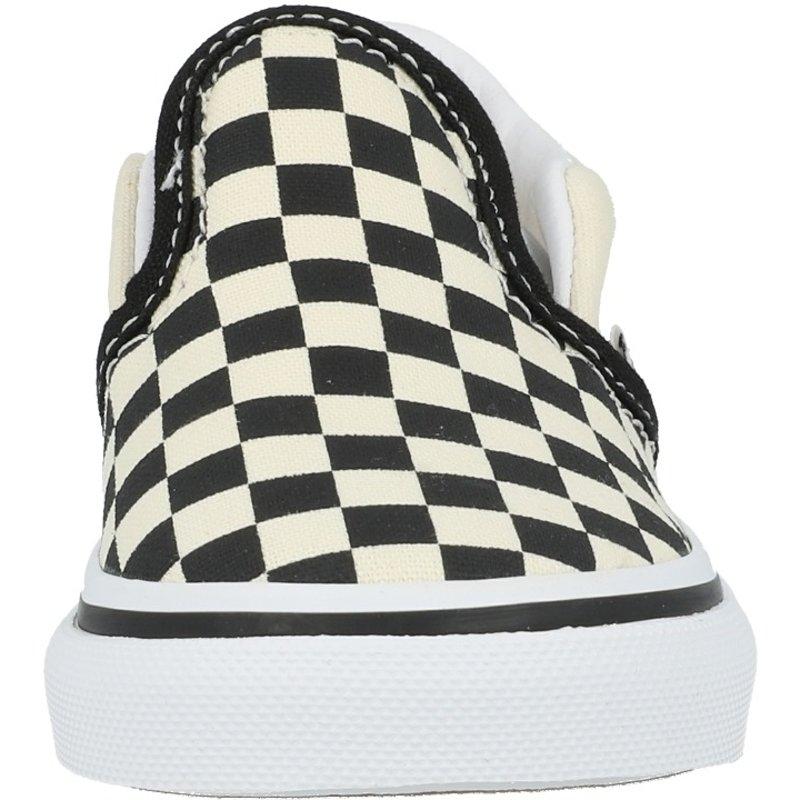 Vans TD Classic Slip-On Black Checkerboard/White Textile