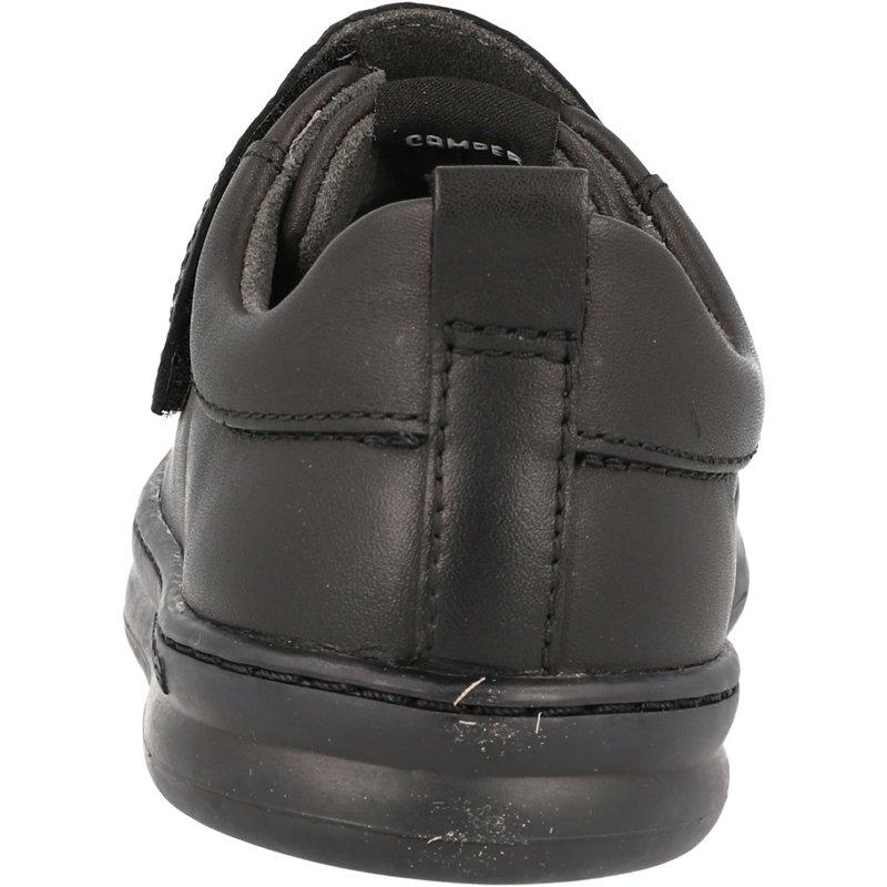 Camper Kids Runner Black Leather