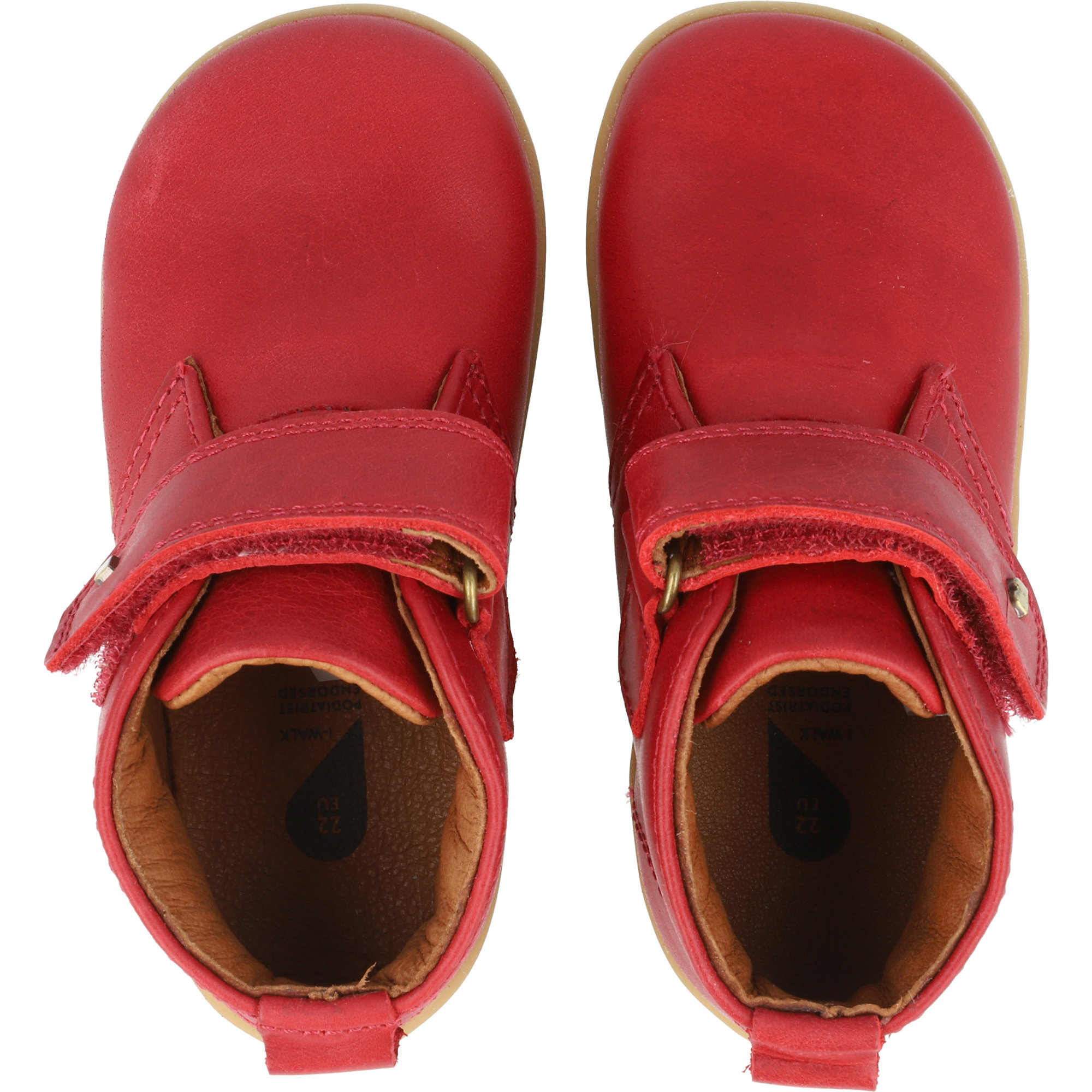 Bobux i-Walk Desert Rio Red Quickdry Vintage-Look Leather