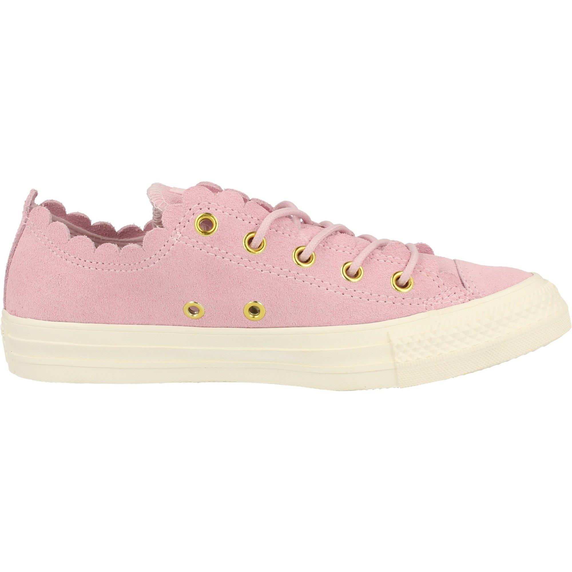 Star Ox Frilly Thrills Pink Foam Suede