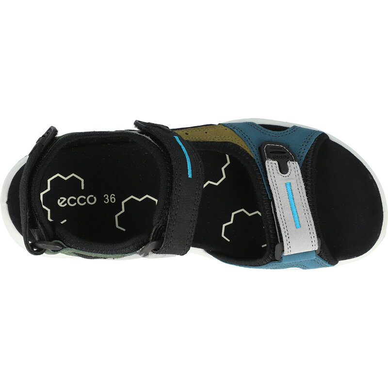 Ecco X-Trinsic K Multicolor/Fir Green Cow Nubuck