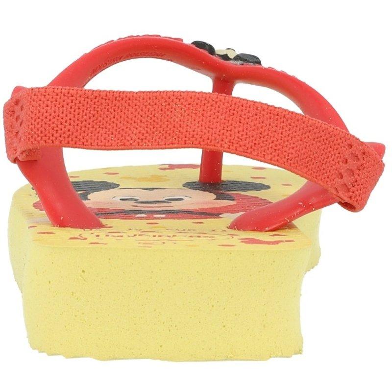 Havaianas Baby Disney Classics II Lemon Yellow Rubber