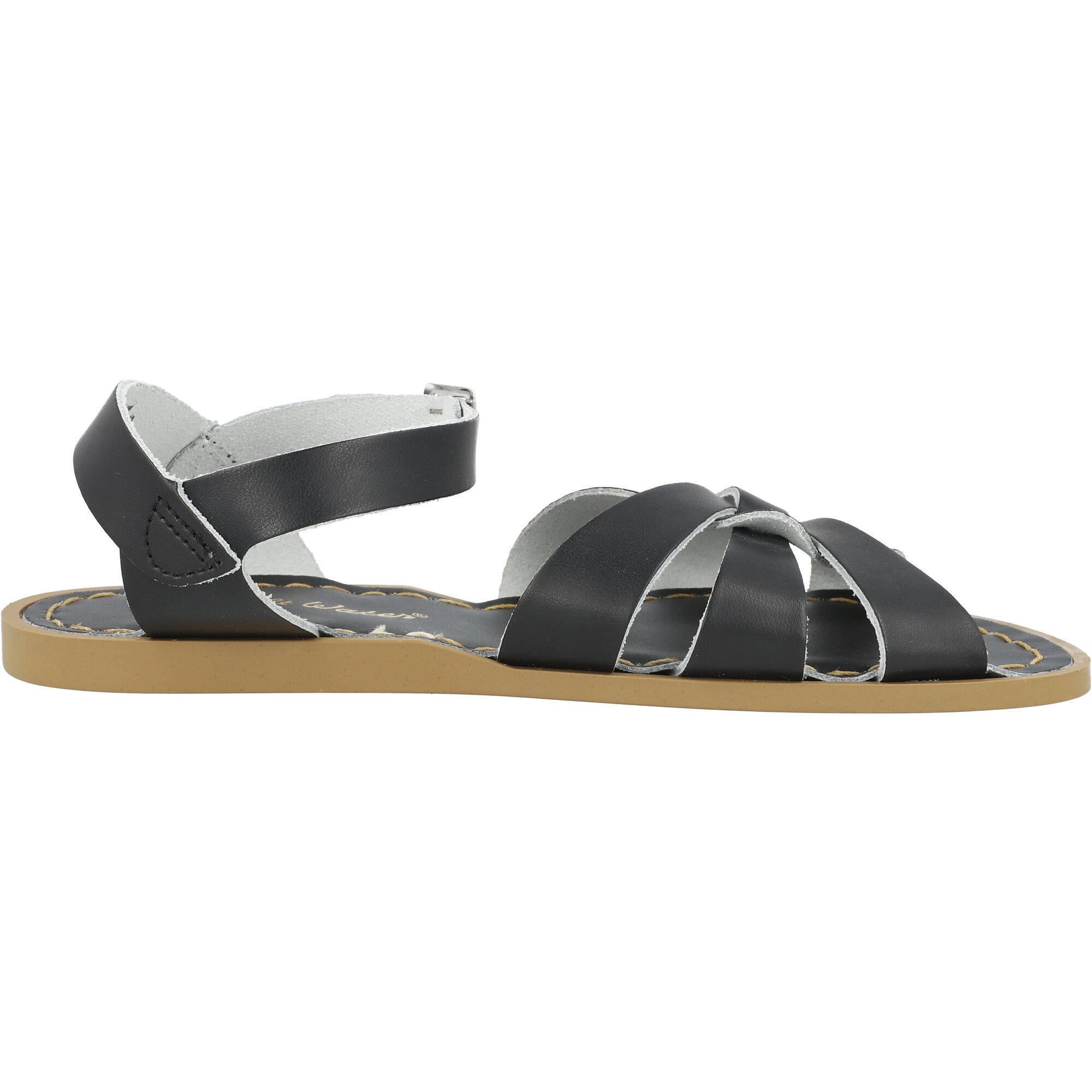 Salt Water Sandals Original Black Leather