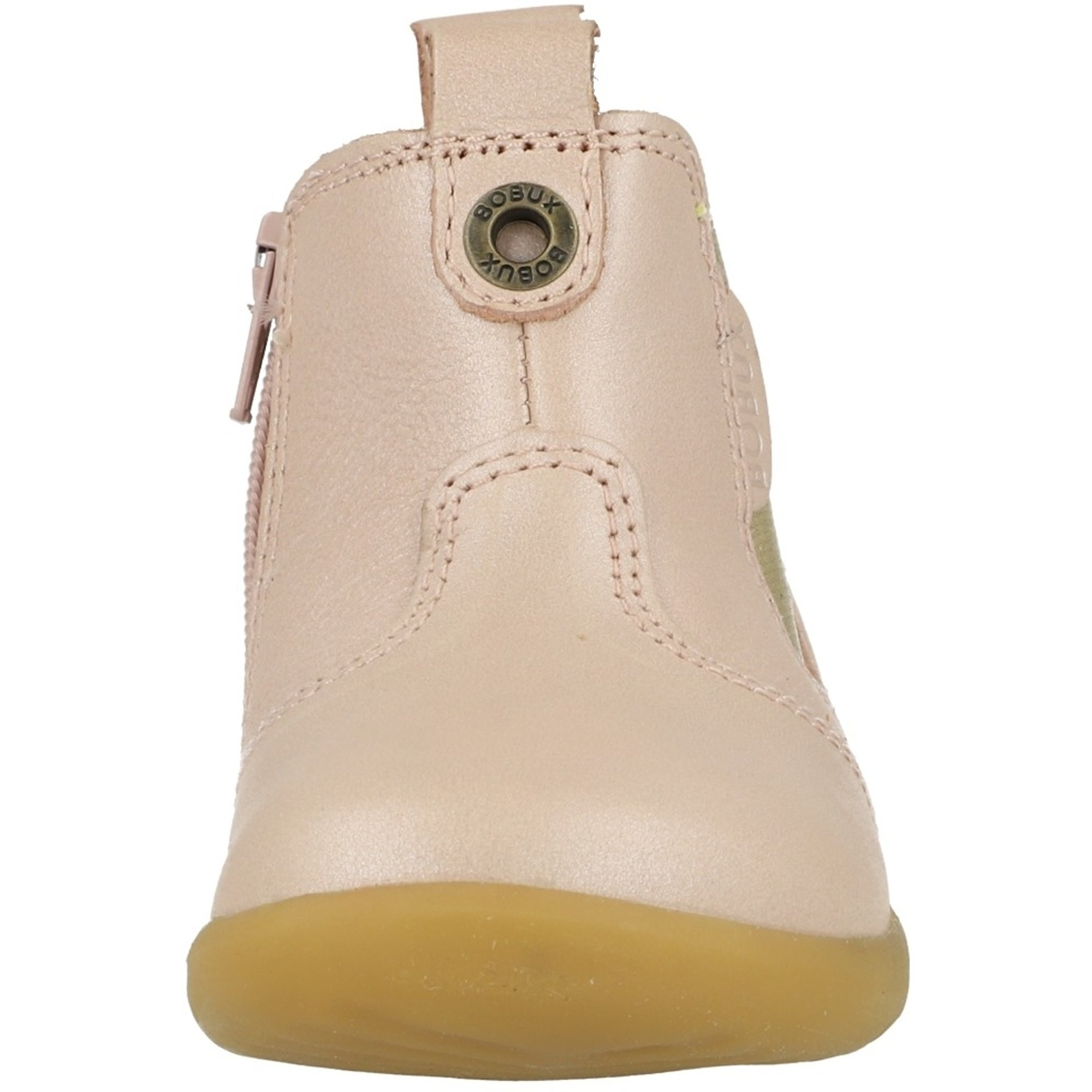 Bobux Step Up Jodhpur Blush Shimmer Leather