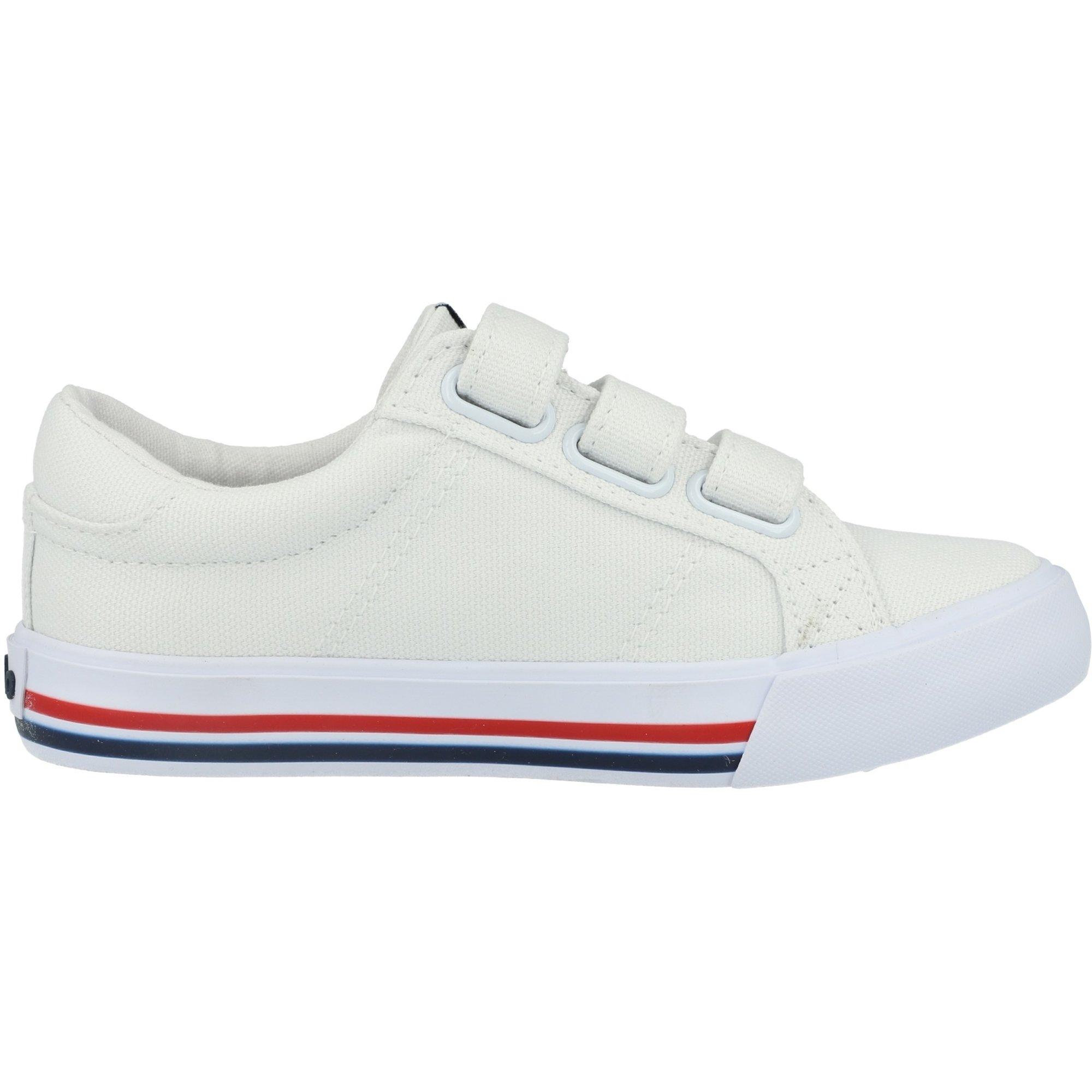 Polo Ralph Lauren Evanston EZ C White/Navy Canvas