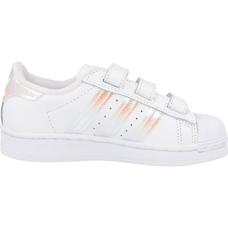 adidas Originals Superstar CF White/Iridescent Leather