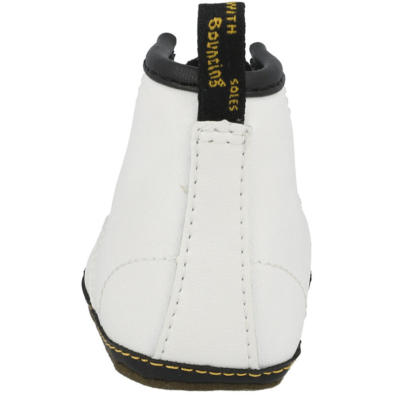 Dr Martens 1460 Crib White Mason Coated Leather