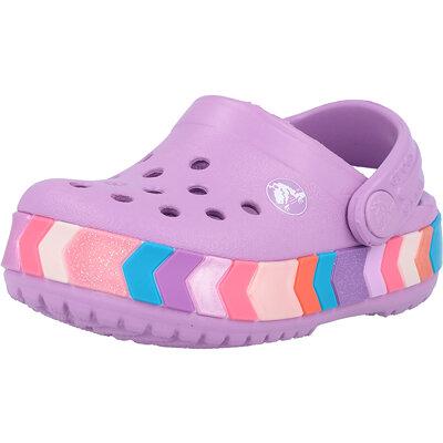 Kids Crocband Chevron Beaded Clog Infant childrens shoes