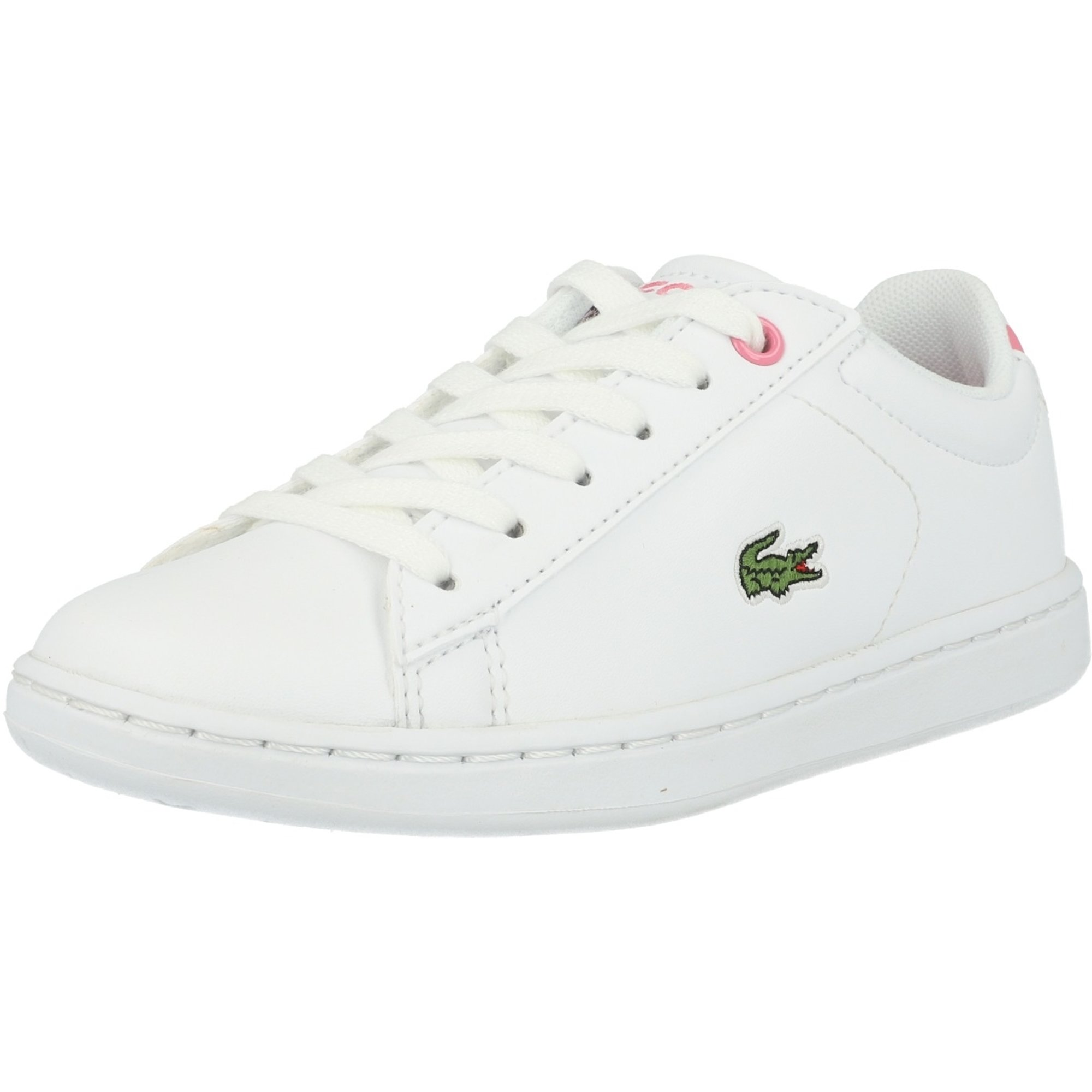 Lacoste Carnaby Evo BL 2 White/Pink Synthetic
