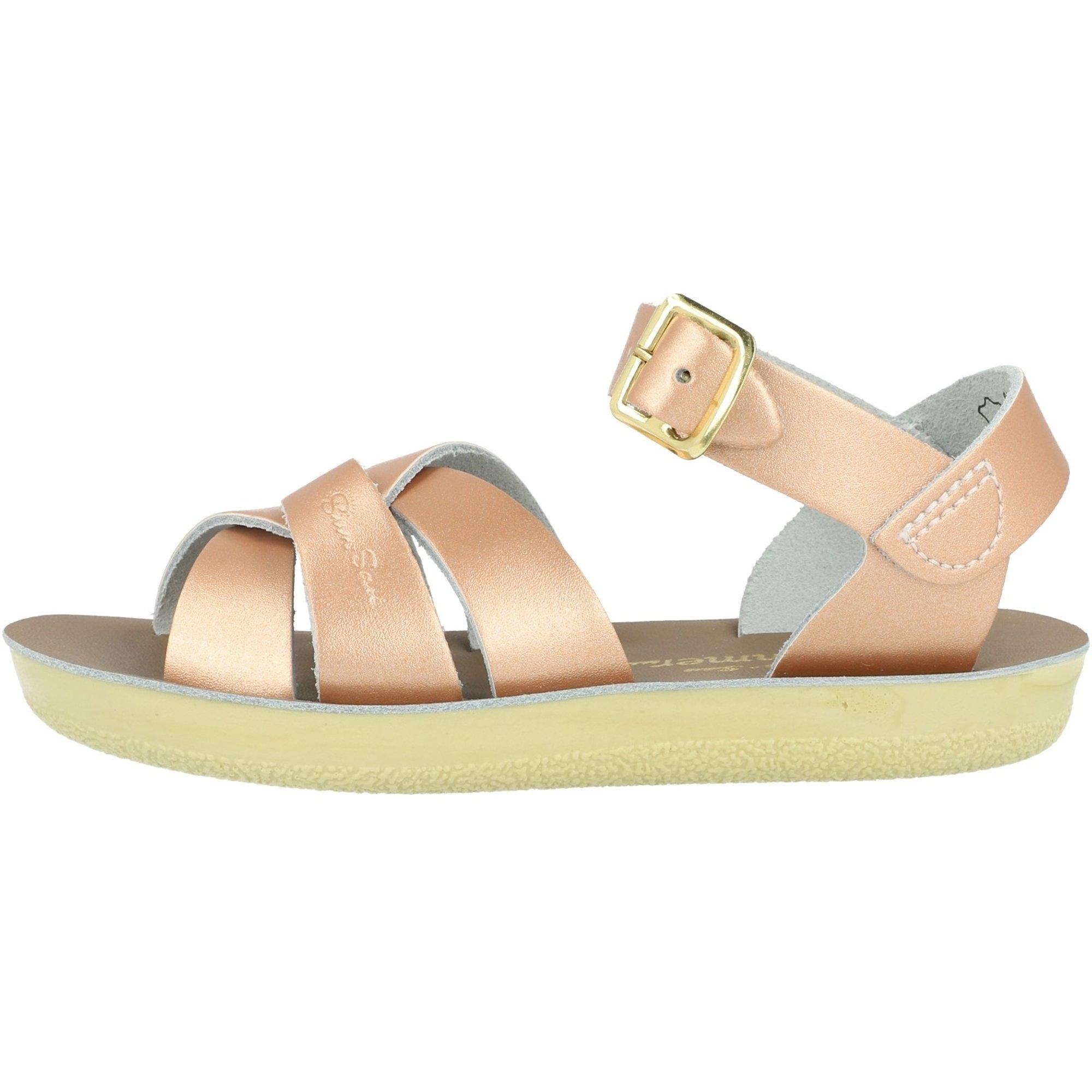 Salt Water Sandals Sun-San Swimmer Rose Gold Leather
