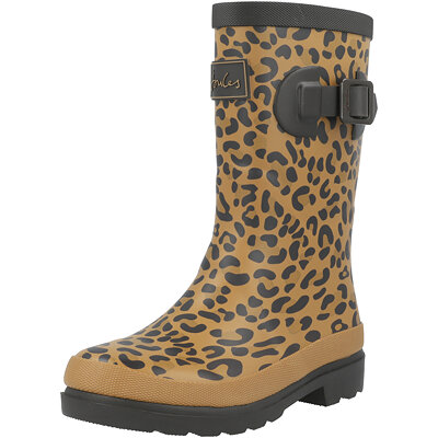 Jnr Welly Print Leopard Child childrens shoes