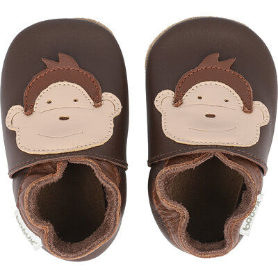 Soft Sole Monkey Baby childrens shoes
