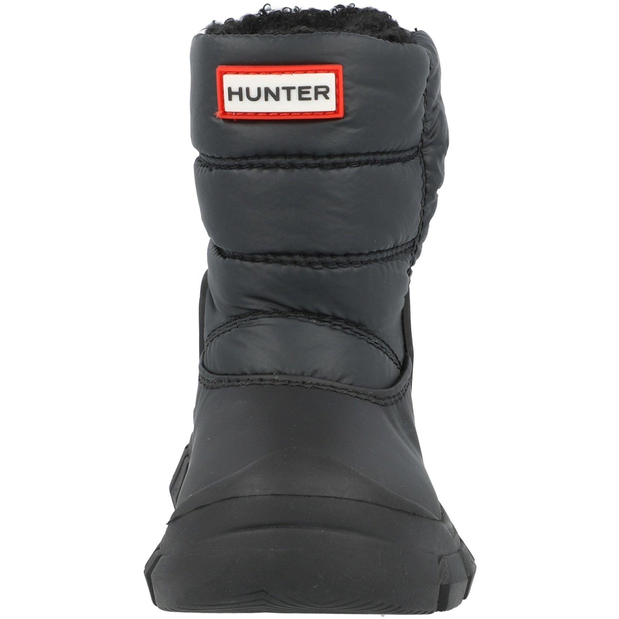 Hunter Original Kids Snow Boot Black Nylon