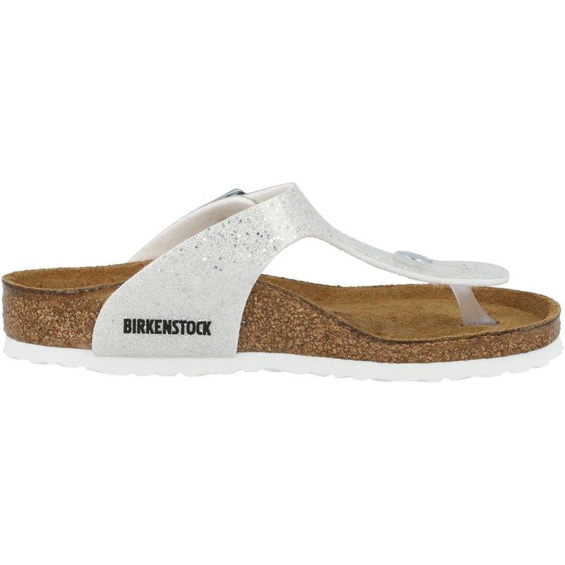 Birkenstock Gizeh Kids Cosmic Sparkle White Birko-Flor