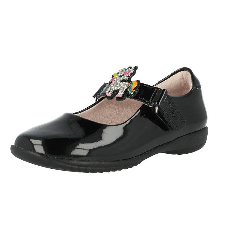 Lelli Kelly Bonnie School Dolly Black Patent
