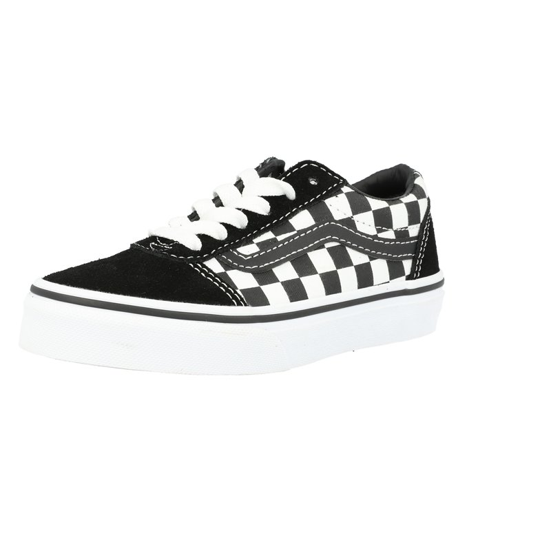 Vans Active YT Ward Black Checkered/White Suede