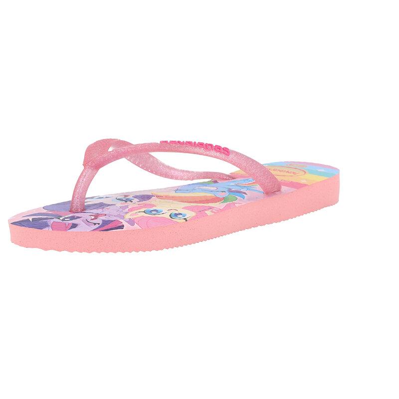 Havaianas Kids Slim My Little Pony Macaron Pink Rubber
