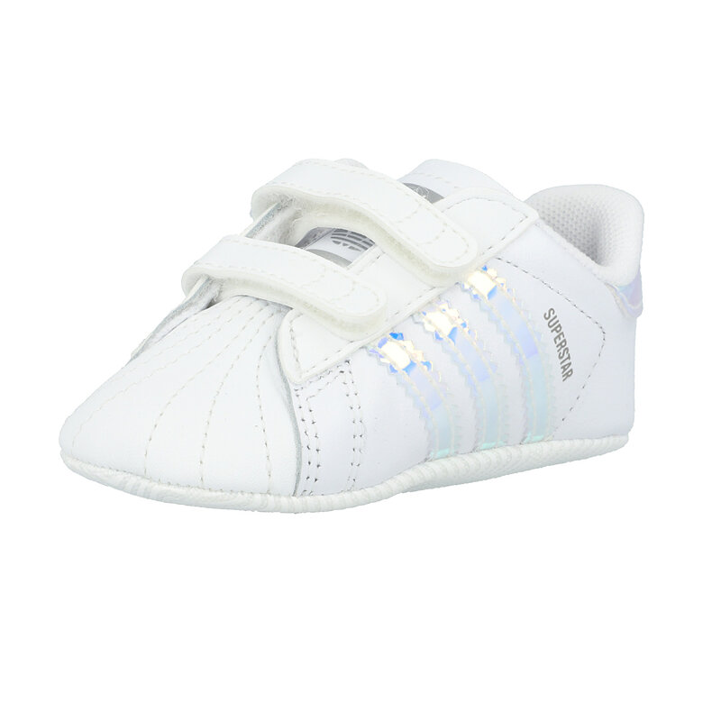 adidas Originals Superstar Crib White/Iridescent Leather Baby