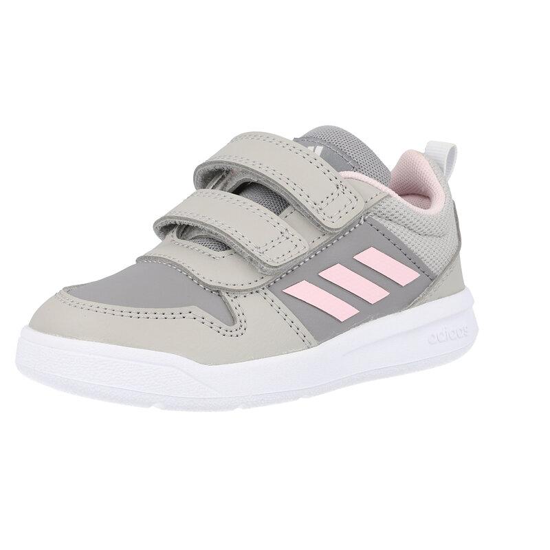 adidas Tensaur I Grey/Pink Synthetic
