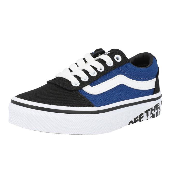 Vans Active YT Ward Bleu/Noir (True Blue/Black) Textile Enfant
