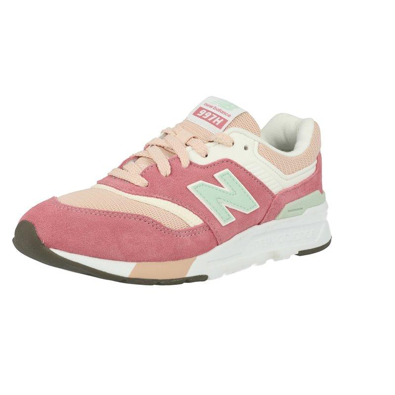 New Balance 997H Madder Rose/Bright Rose Pink Suede Junior