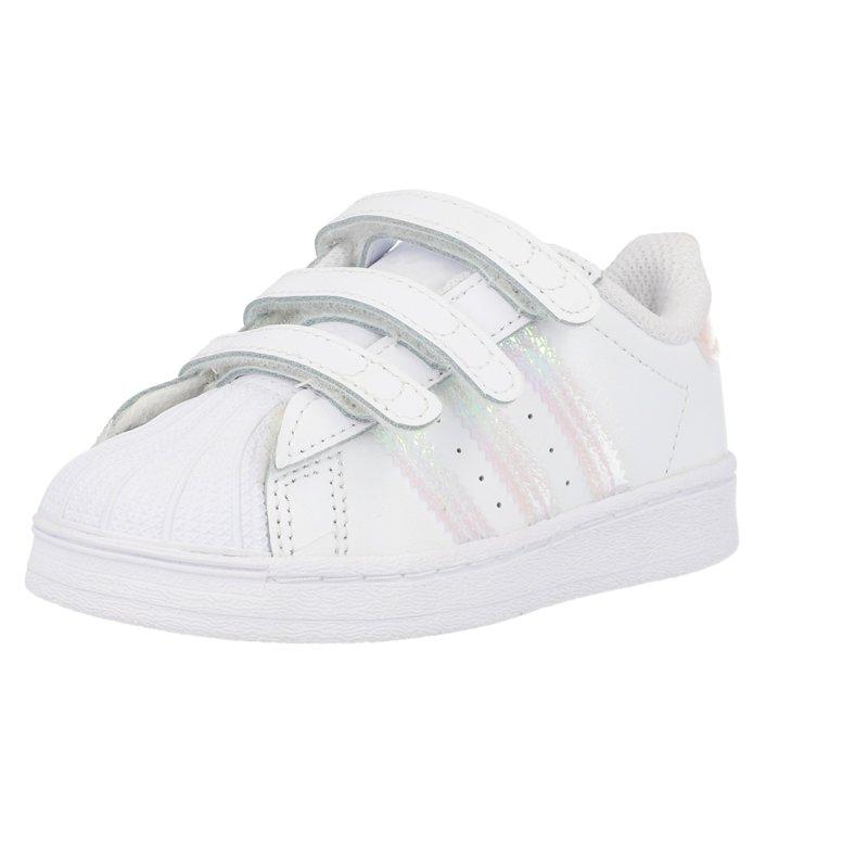 adidas Originals Superstar CF I White/Iridescent Leather