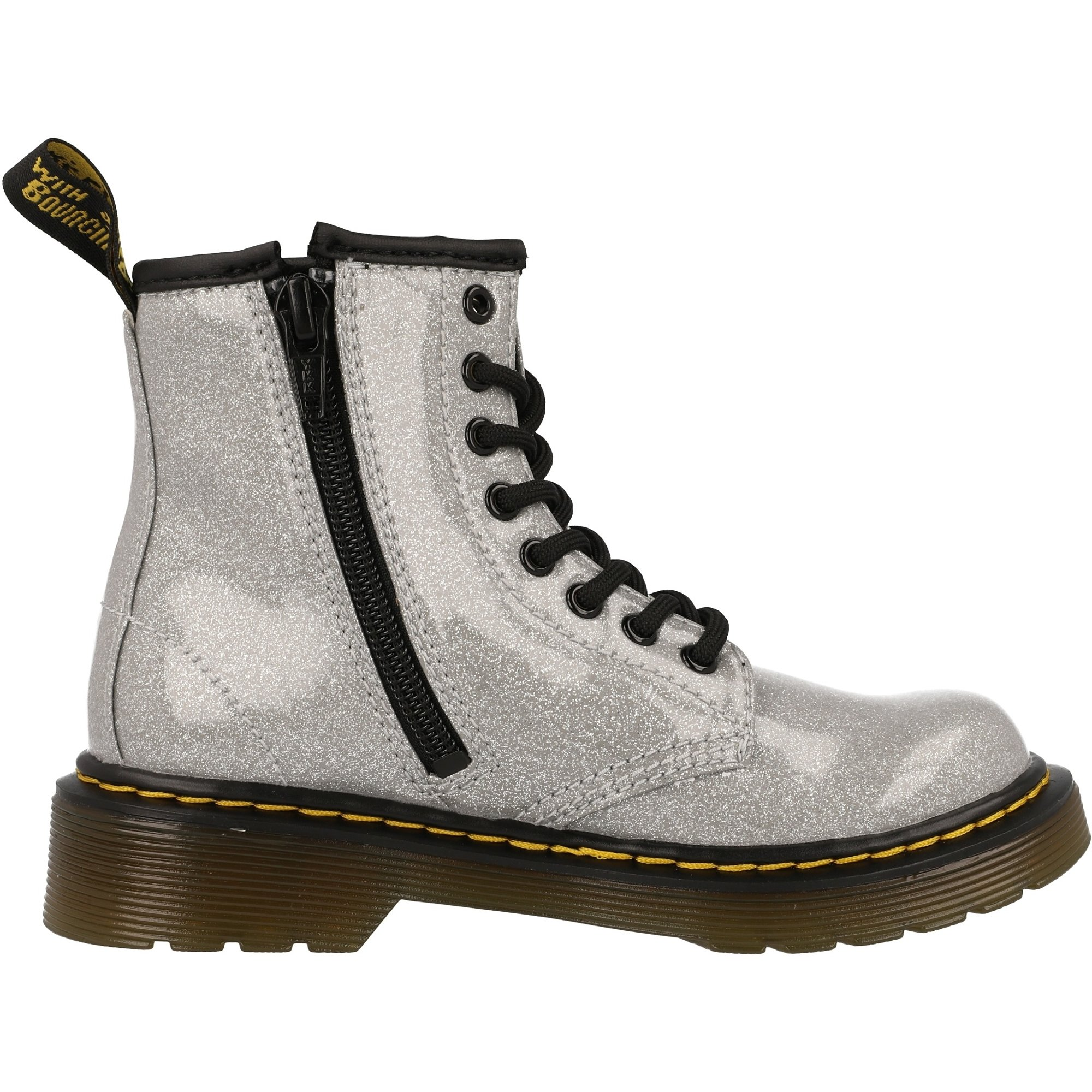 Martens Kids Collection 1460 Glitter Stars Delaney Boot Dr Little Kid//Big Kid