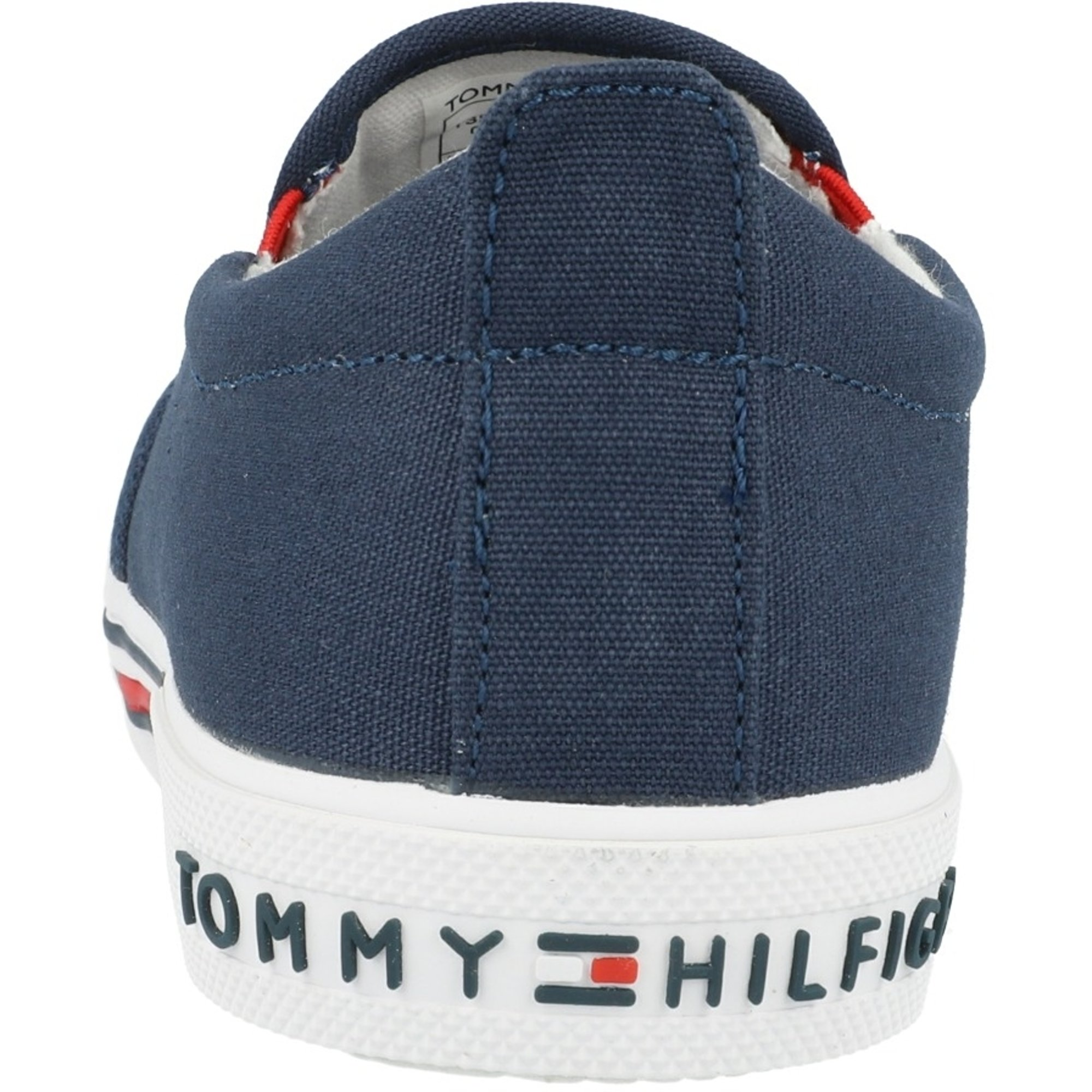 Tommy Hilfiger Trainer Blue Recycled Canvas