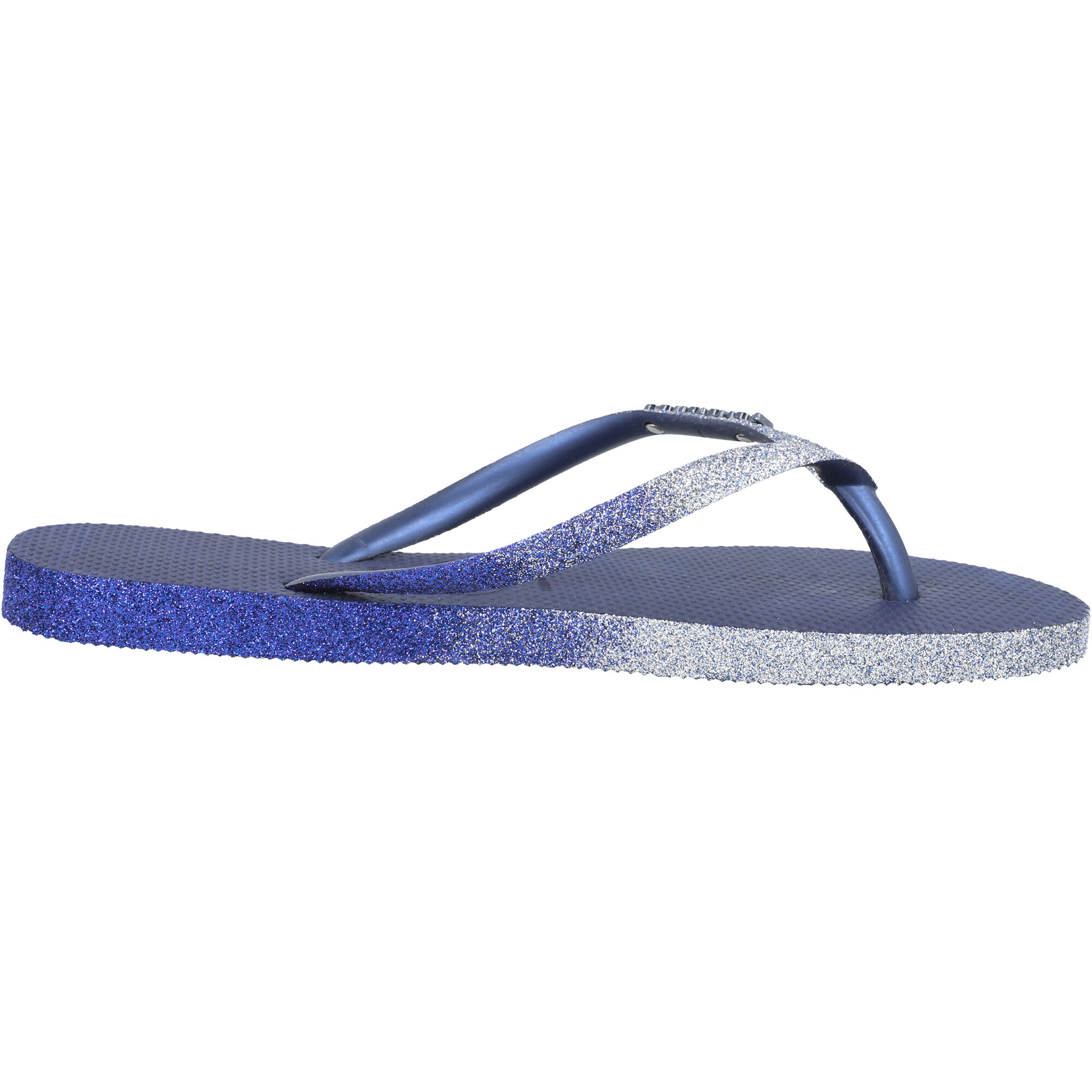 Havaianas Slim Sparkle II Navy Blue Rubber