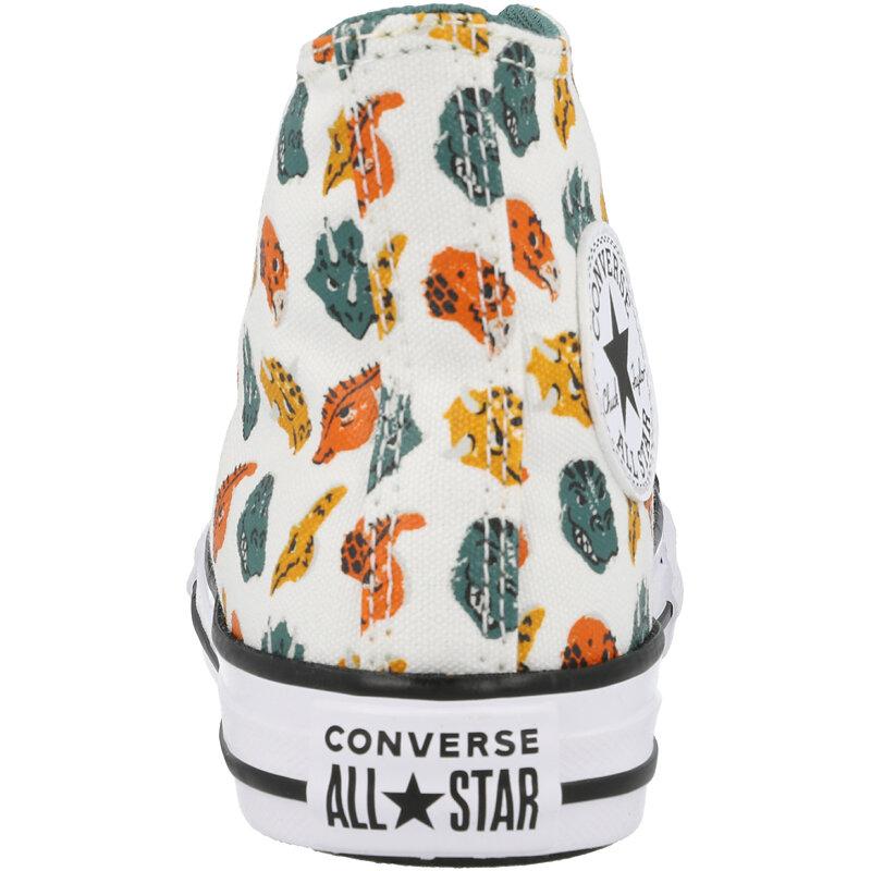 Converse Chuck Taylor All Star Hi Dino Daze White/Forest Pine Canvas