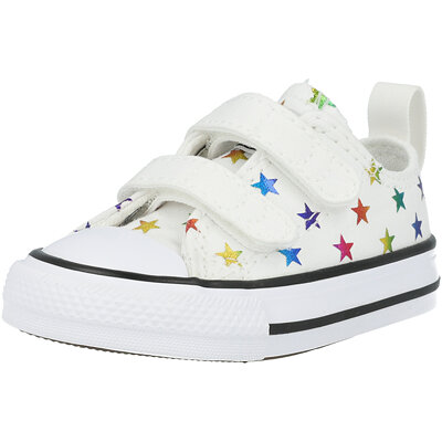 Chuck Taylor All Star 2V Ox Archive Foil Star Print Infant childrens shoes
