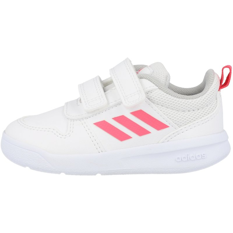adidas Tensaur I White/Pink Synthetic